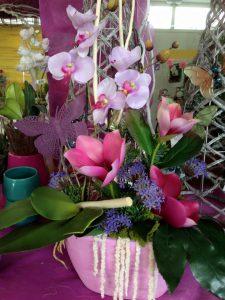 Flor artificial Complejo Nova